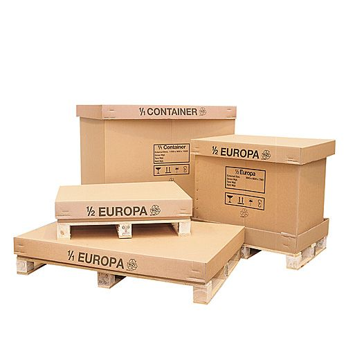 Pallet Box//Containers 1//1-1070 x 870 x 900mm 1 Pallet Container