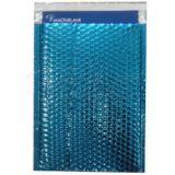 A3 Blue Metallic Bubble Lined mailer