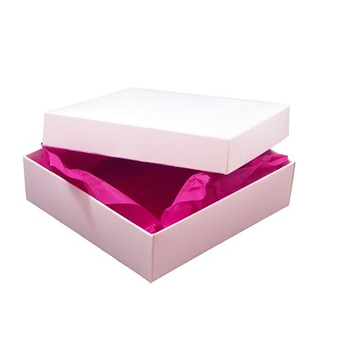 A white large gift box