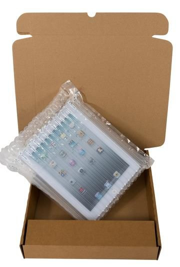 Tablet packaging for Christmas shopping